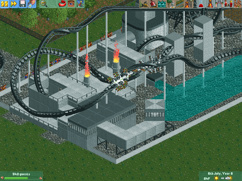 Roller Coaster Tycoon  Trainer  Cars