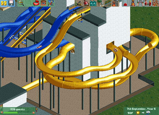 My RCT2 custom rides - RollerCoaster Tycoon - SSCoasters Community